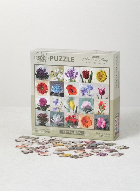 Flower Puzzle-Gift-Quinn's Mercantile