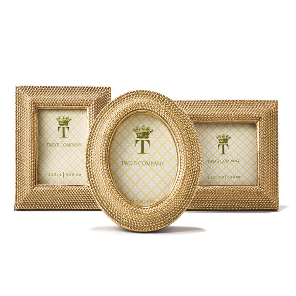 Golden Dot Photo Frame-For the Home-Quinn's Mercantile
