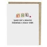 Greeting Card-greeting cards-Parenting Is Hard-Quinn's Mercantile