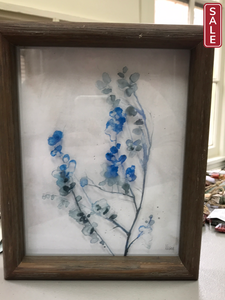 Watercolor Floral Wall Hanging-Wall Decor-Quinn's Mercantile