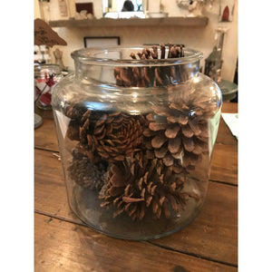 Glass Jar-For the Home-Jar No Lid-Quinn's Mercantile