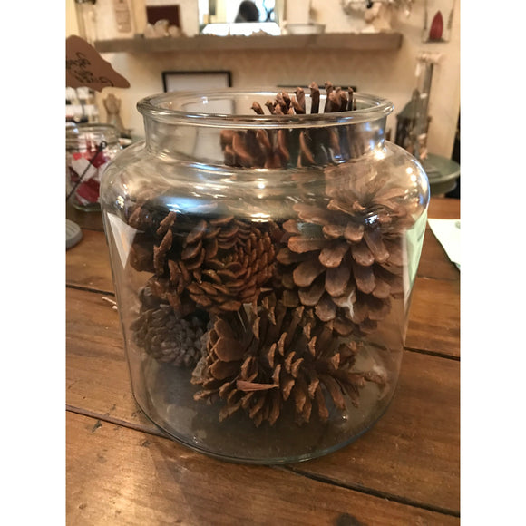 Glass Jar | Quinn's Mercantile-For the Home-Quinn's Mercantile