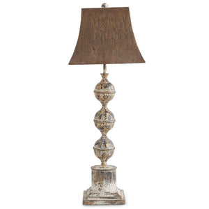 Black and Gold Metal Lamp-Lighting-Quinn's Mercantile