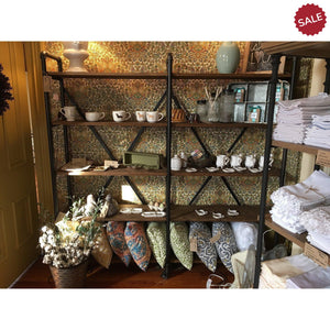Metal Reclaimed Wood Shelving-furniture-Quinn's Mercantile