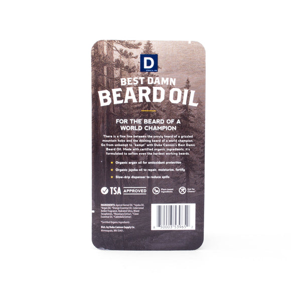 Duke Cannon Beard Oil-Men's Gifts-Quinn's Mercantile