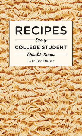 Recipes Every College Student Should Know-Quinn's Library-Quinn's Mercantile