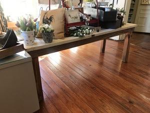 Reclaimed Door Table-furniture-Quinn's Mercantile