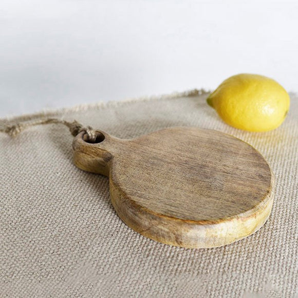 Round Wood Board-For the Home-Quinn's Mercantile