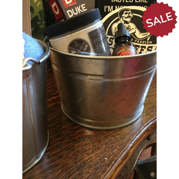 Steel Bucket | Quinn's Mercantile-For the Home-Quinn's Mercantile