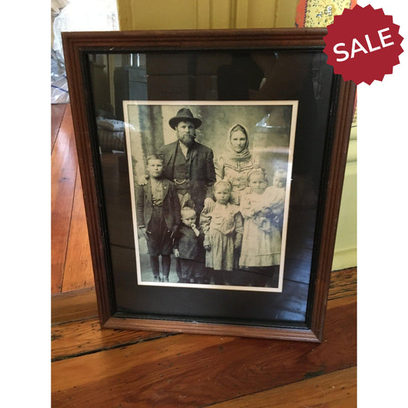 Vintage Family Photo-Vintage Finds-Quinn's Mercantile