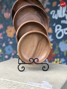 Hand Carved Wooden Bowl-kitchen-Quinn's Mercantile