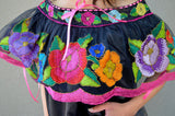 Top Blouse Hand Embroidered Multicolor