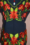 Gorgeous Orange Embroidered Blouse
