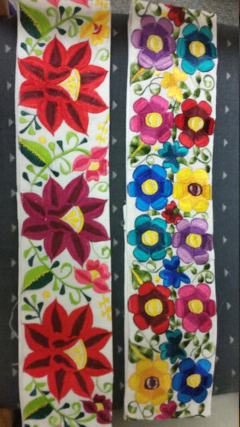 Gorgeous Multicolor Belts Hand Made and Embroidered Different Colors and Designs