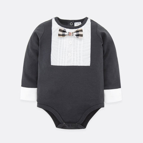 5134a0ef8 Ready Stock   Baby Dinor Long Sleeve Baby Romper – My Growing Seed
