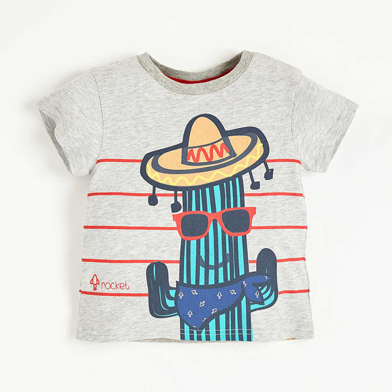 Ready Stock The Cool Cactus Man Short Sleeve T Shirt My Growing Seed
