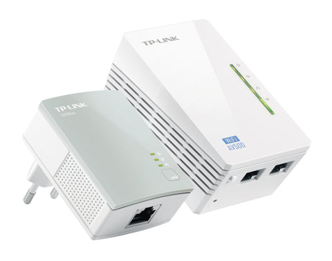 TP-LINK - TL-WPA4220KIT Ethernet Wifi - Redes home plug (PLC) Lleida - D-Logy Informatic Solutions