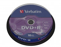 Verbatim - DVD+R 10und. 4.7GB - CD/DVD Lleida - D-Logy Informatic Solutions