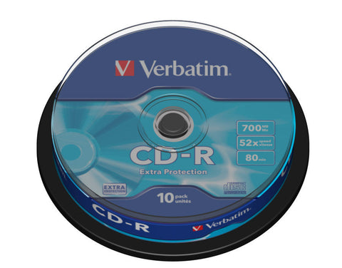Verbatim - CD-R 10und. 700MB - CD/DVD Lleida - D-Logy Informatic Solutions