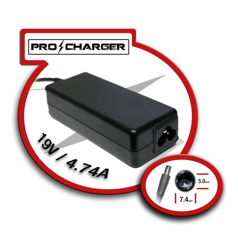 Pro Charger - 19V 4.74A 7.4mm x 5.0mm 90W (HP)