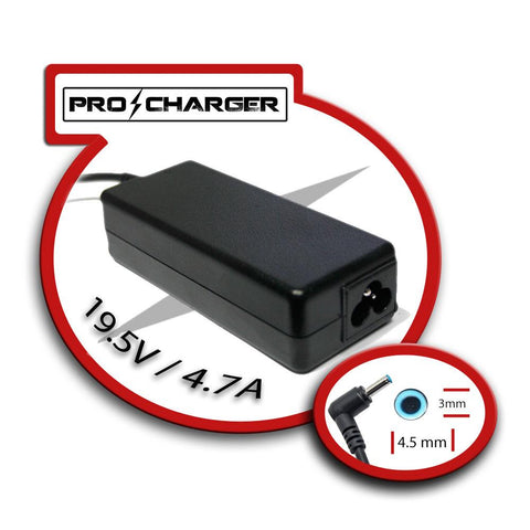 Pro Charger - 19.5V 4.7A 4.5mm x 3.0mm 90W (HP)