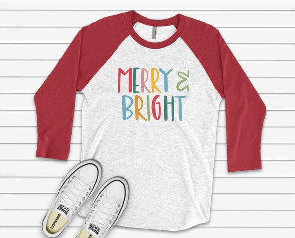 Merry & Bright Graphic Tee