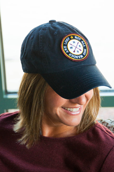 Navy Not All Who Wonder Cap