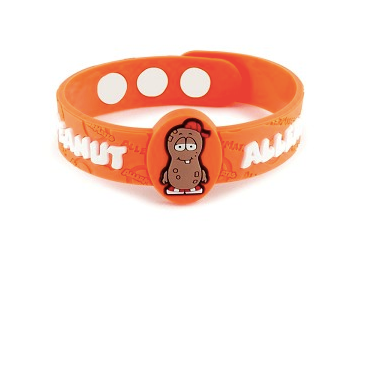 Peanut Free Awareness Bracelet