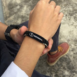 Sports Medical ID Bracelet - Vegetarian ❤