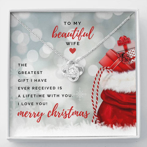 To my beautiful wife - Merry Christmas