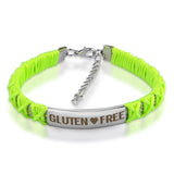 Official GLUTEN ❤ FREE Braided Ribbon Bracelets