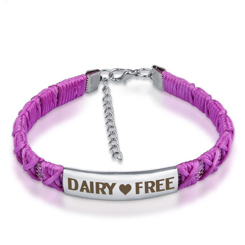 Official DAIRY ❤ FREE Braided Ribbon Bracelets
