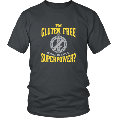 Official GLUTEN FREE Superpower Shirt