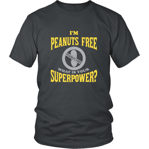 Official PEANUTS FREE Superpower Shirt
