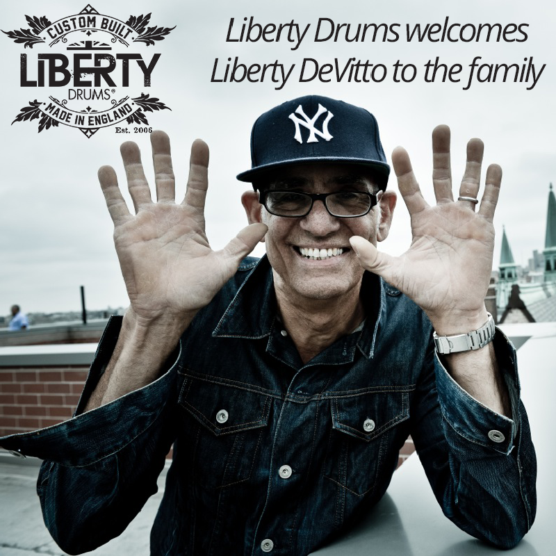 Liberty Drums Announces Liberty DeVitto New Endorser
