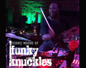 Welcome Cedric Moore - Liberty Drums Artist