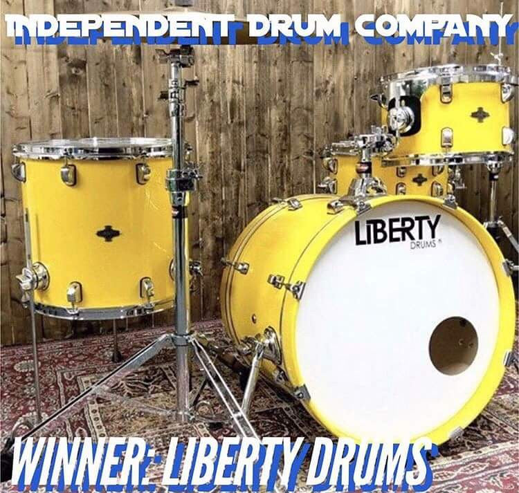 WINNER OF BEST INDEPENDENT DRUM COMPANY 2017
