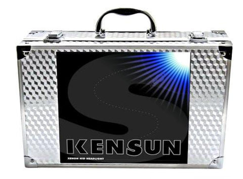 "Kensun HID Xenon Conversion Kit ""All Bulb Sizes and Colors"" with ""Slim"" Digital Ballasts - H13 (9008) Bi-Xenon - 6000k"