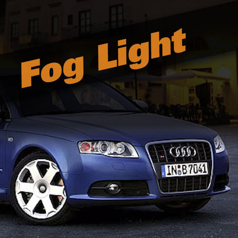 Audi A4 HID Xenon Fog Light Kit
