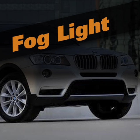 BMW X3 HID Xenon Fog Light Kit