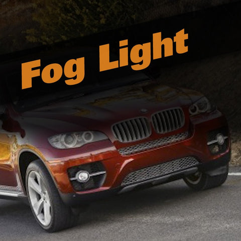BMW X6 HID Xenon Fog Light Kit