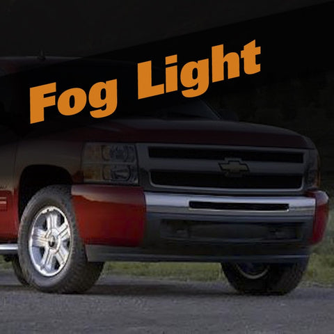 Chevrolet Silverado HID Xenon Fog Light Kit