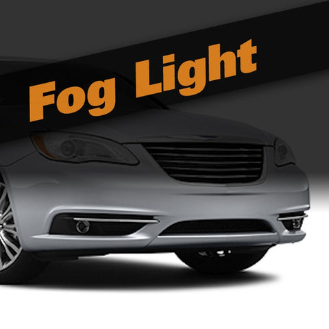 Chrysler 200 HID Xenon Fog Light Kit