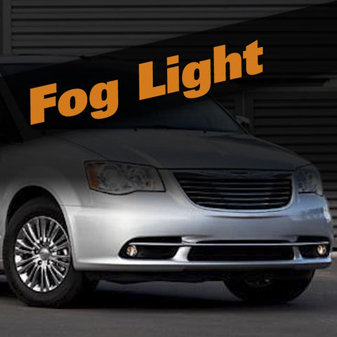 Chrysler Town & Country HID Xenon Fog Light Kit