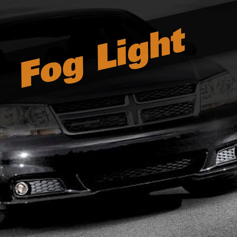 Dodge Avenger HID Xenon Fog Light Kit