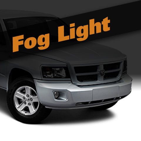 Dodge Dakota HID Xenon Fog Light Kit