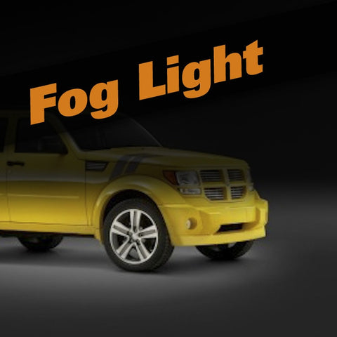 Dodge Nitro HID Xenon Fog Light Kit