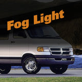 Dodge Ram Van HID Xenon Fog Light Kit