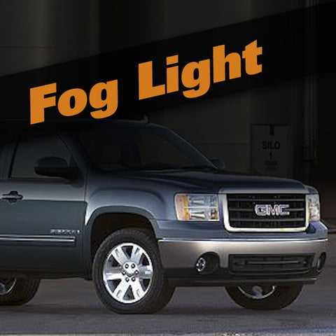 GMC Sierra HID Xenon Fog Light Kit