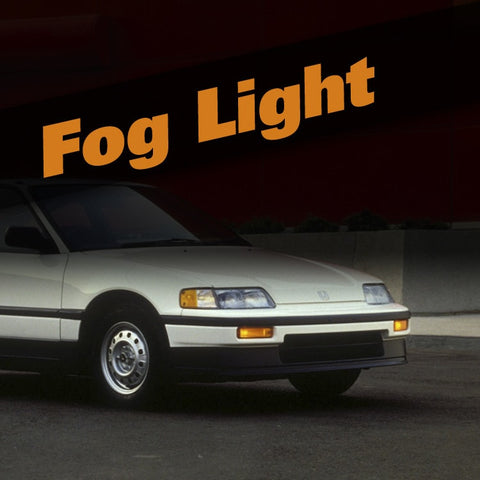 Honda CRX HID Xenon Fog Light Kit
